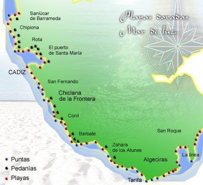 mapa-playas-de-cádiz