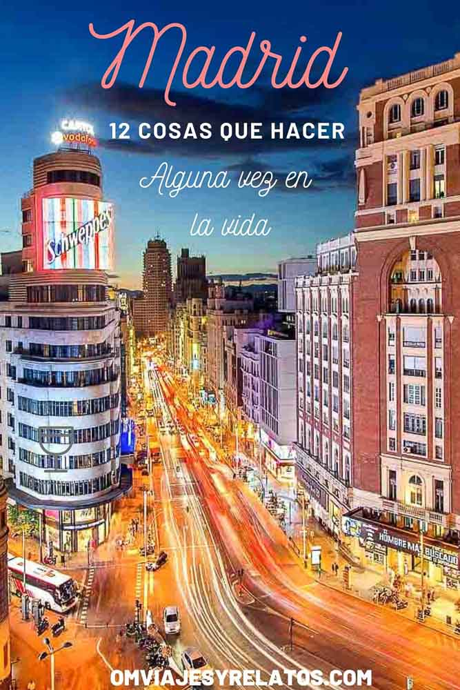 12 COSAS QUE HACER EN MADRID