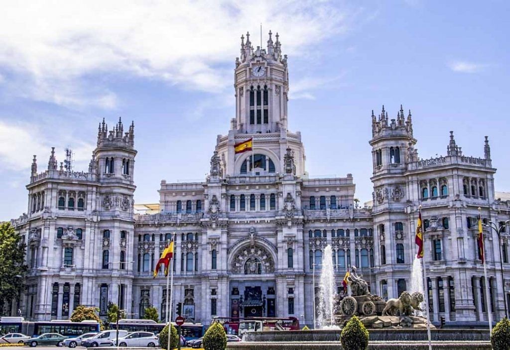 Madrid-Palacio-Cibeles