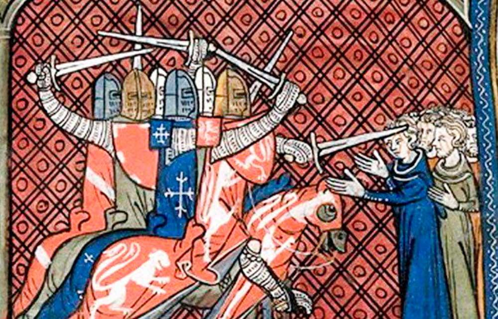 La Cruzada contra los Cátaros.