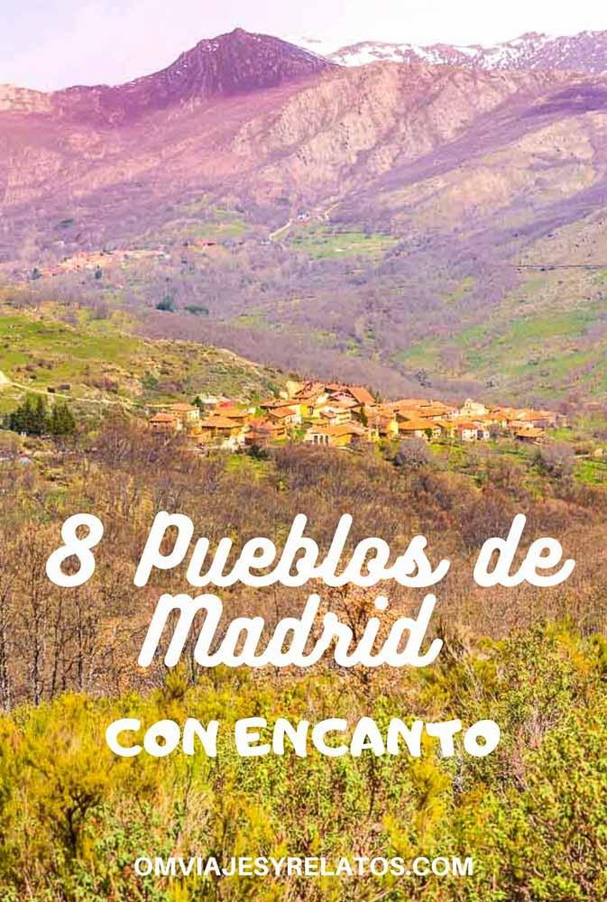 PUEBLOS DE MADRID CON ENCANTO