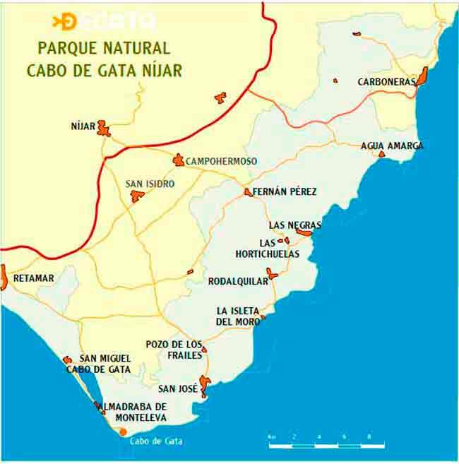 mapa-de-Cabo-de-Gata
