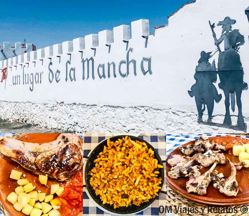Ruta-de-Quijote-en-coche-gastronomía