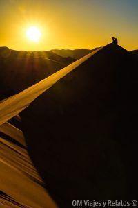 atardecer-desierto-de-Merzouga-en-Marruecos