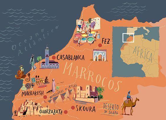 mapa-Marruecos-desierto.
