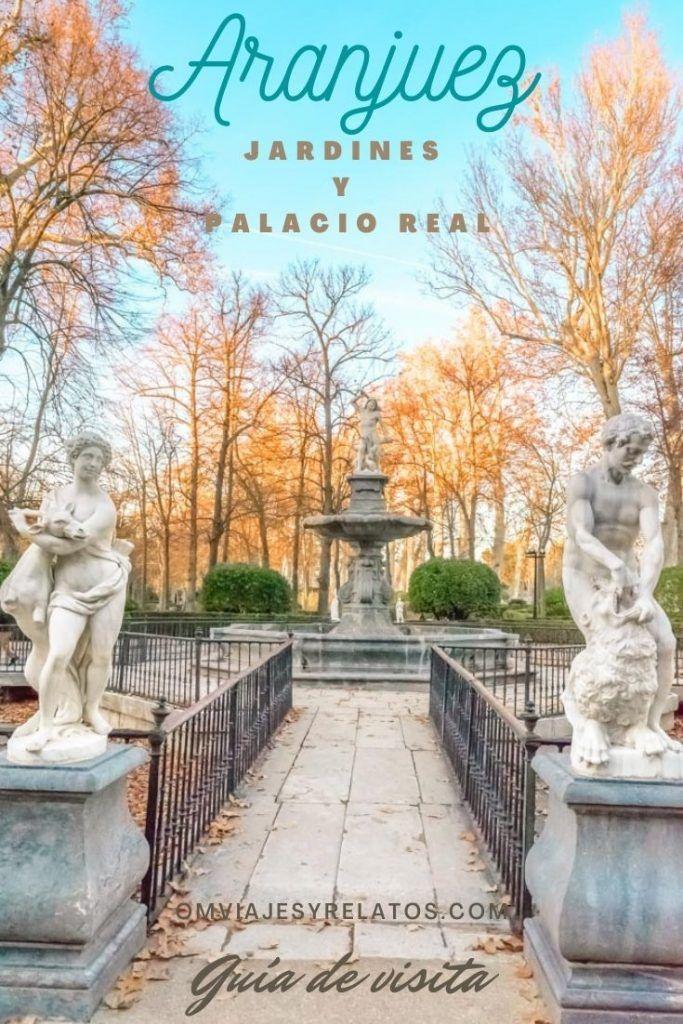 CÓMO VISITAR LOS JARDINES Y EL PALACIO REAL DE ARANJUEZ