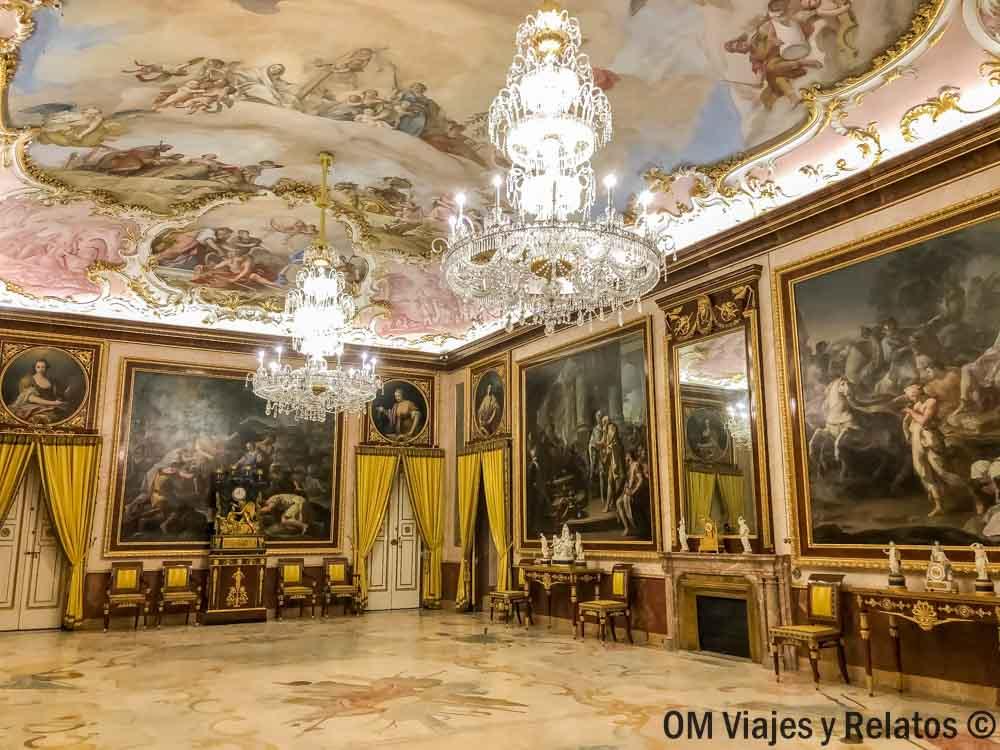 que-visitar-en-el-Palacio-de-Aranjuez-Comedor-de-Gala