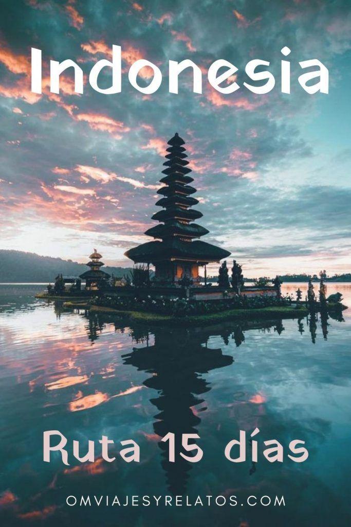 RUTA DE 15 DÍAS EN INDONESIA