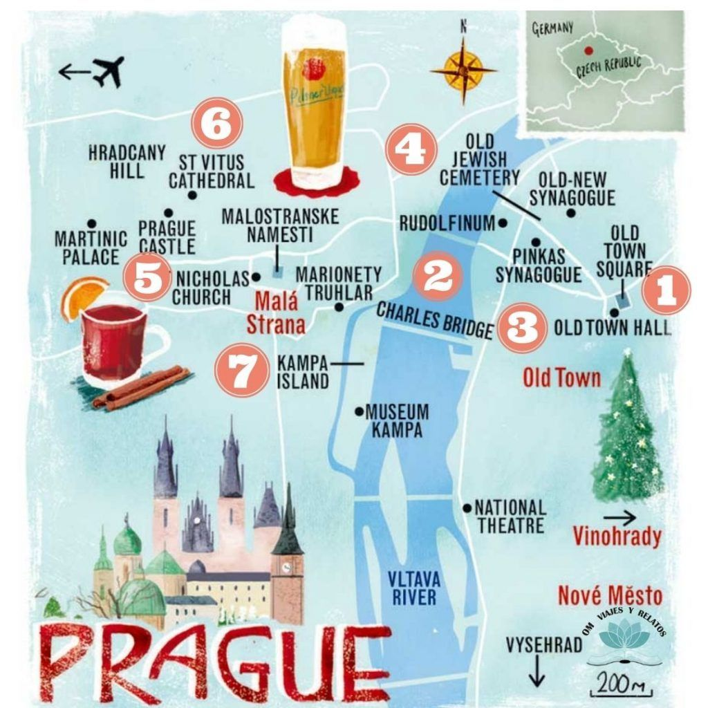 mapa-7-visitas-en-Praga-imprescindibles