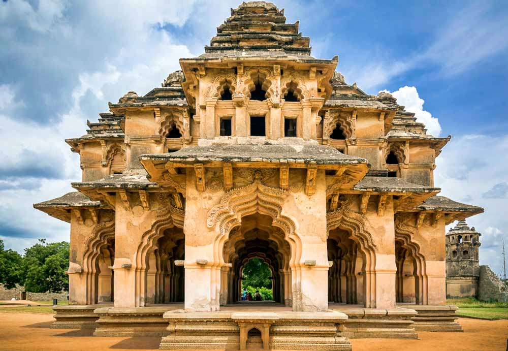 que-ver-en-Hampi-Lotus-Mahal