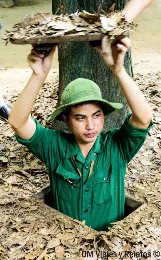 visitar-los-túneles-Cu-Chi-Vietnam-excursión