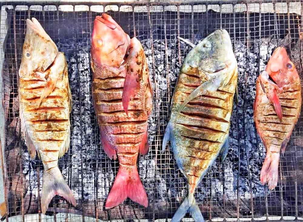 cosas-que-hacer-en-Maldivas-barbacoa-pescado