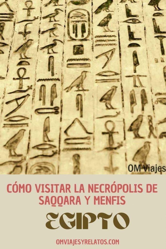 VISITAR SAQQARA Y MENFIS EN EGIPTO