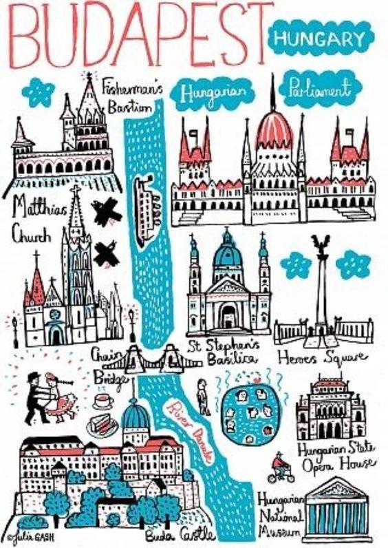 mapa-turístico-Budapest-turismo