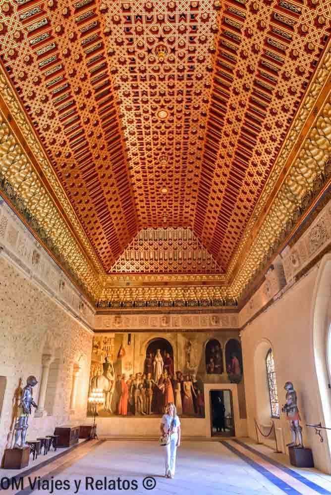 visitar-el-interior-del-Alcázar-Segovia