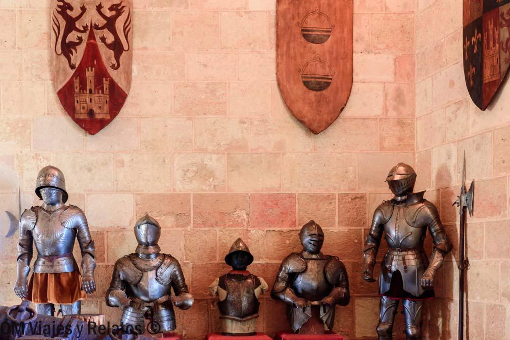 cómo-visitar-el-Alcázar-de-Segovia-Armería