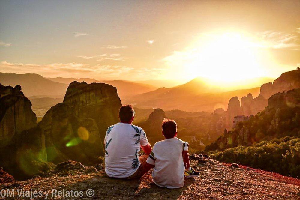 atardecer-en-Meteora-Grecia