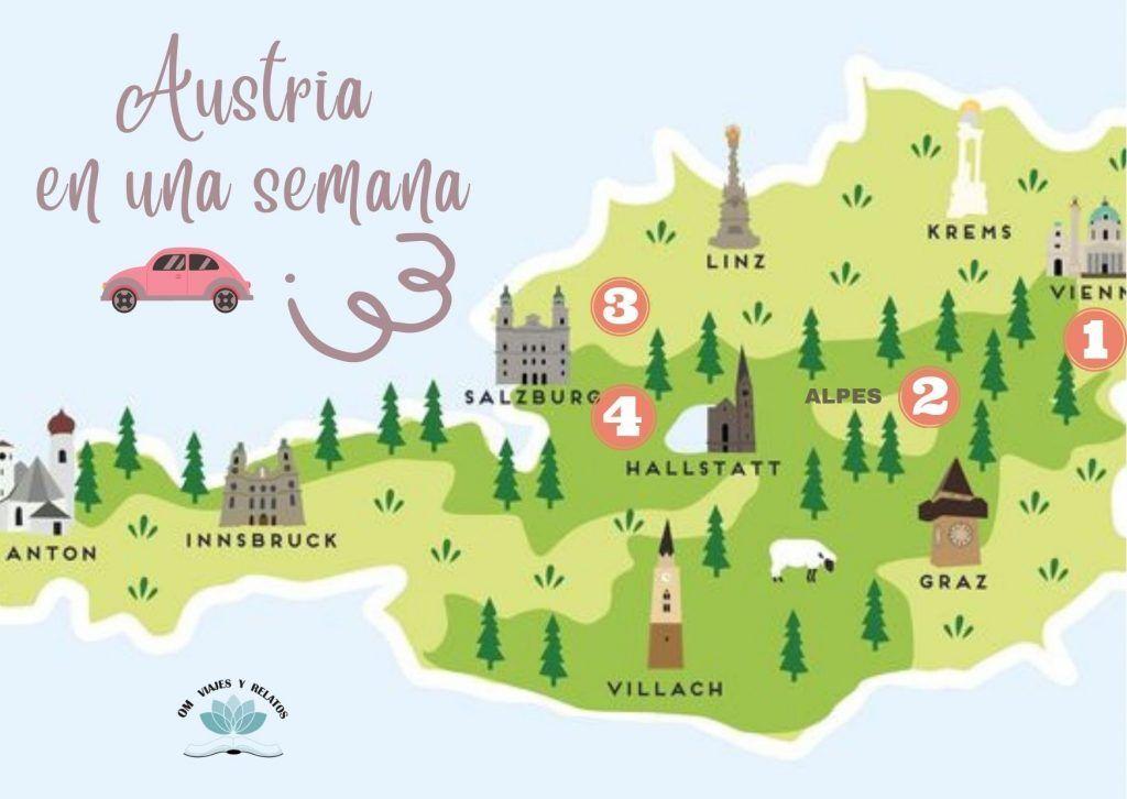 que-ver-en-Austria-ruta-mapa